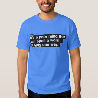 A poor mind – A design thing Tee Shirt