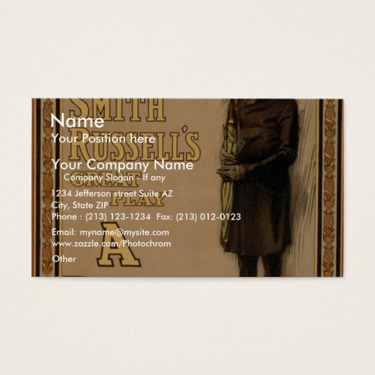 A Poor Relation Business Card