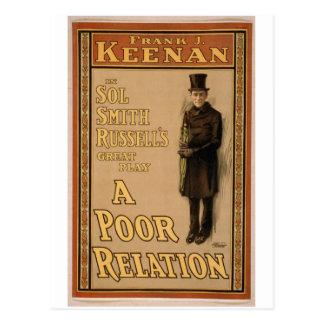 A Poor Relation Postcard