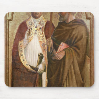 A Pope  and St. Matthias, c.1428-29 Mouse Pad