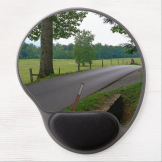 A popular Country Road at Cades Cove The Great Smo Gel Mouse Pad