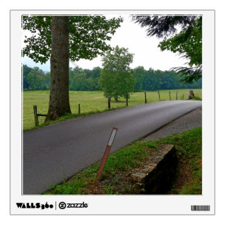 A popular Country Road at Cades Cove The Great Smo Wall Sticker