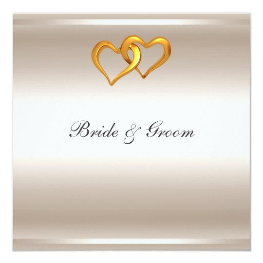 A Popular Elegant Silver Wedding Invitation