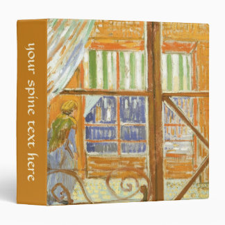 A Pork Butcher's Shop Window by Vincent van Gogh 3 Ring Binder