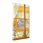 A Pork Butcher's Shop Window by Vincent van Gogh Gallery Wrapped Canvas