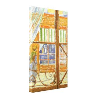A Pork Butcher's Shop Window by Vincent van Gogh Canvas Print