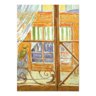 A Pork Butcher's Shop Window by Vincent van Gogh Card