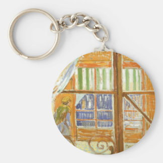A Pork Butcher's Shop Window by Vincent van Gogh Keychain