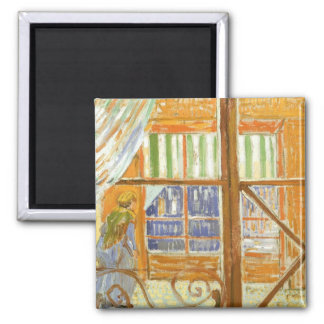 A Pork Butcher's Shop Window by Vincent van Gogh Magnet