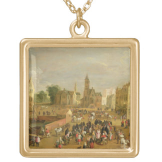 A Port Gold Plated Necklace