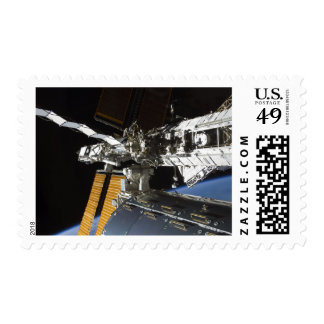 A portion of the Columbus laboratory Postage