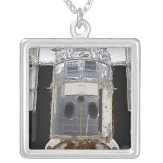 A portion of the Hubble Space Telescope Square Pendant Necklace