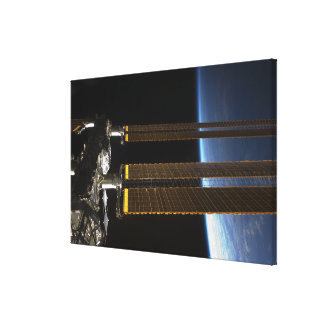 A portion of the International Space Station 2 Canvas Print