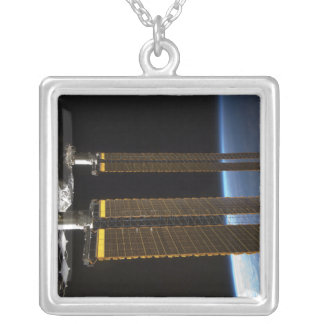 A portion of the International Space Station 2 Custom Necklace
