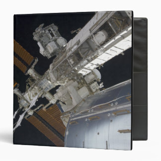 A portion of the International Space Station 3 3 Ring Binder