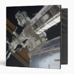 A portion of the International Space Station 3 Vinyl Binders