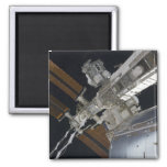 A portion of the International Space Station 3 Refrigerator Magnets