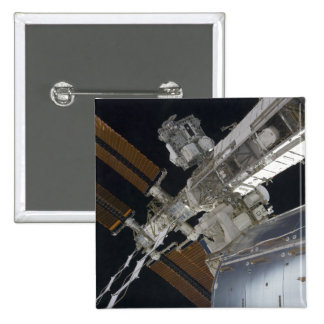 A portion of the International Space Station 3 Pinback Button