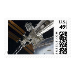 A portion of the International Space Station 3 Stamp