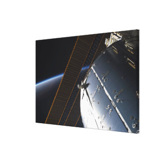 A portion of the International Space Station Canvas Print