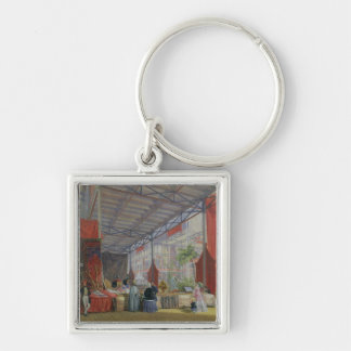 A Portion of the Transept of the Great Exhibition Keychain
