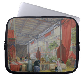 A Portion of the Transept of the Great Exhibition Laptop Sleeves