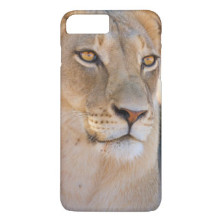 A portrait of a Lioness looking into the distance iPhone 7 Plus Case