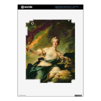 A Portrait of Anne Josephe Bonnnier de la Mossau ( Skin For iPad 3