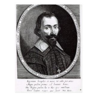 A portrait of Claude Maugis, advisor to Marie Postcard