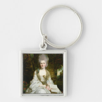 A Portrait of Dorothy Vaughan Keychain