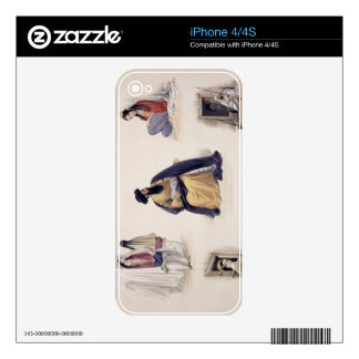 A Portrait of His Majesty Shah-Soojah-Ool-Moolk (1 iPhone 4 Skin