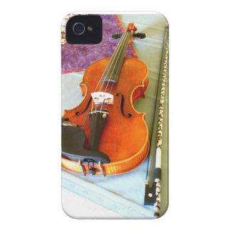 A Portrait of the Maestro DePue's Violin iPhone 4 iPhone 4 Case