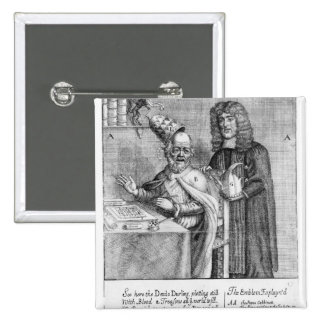 A Portrayal of Titus Oates Button