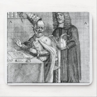 A Portrayal of Titus Oates Mouse Pad