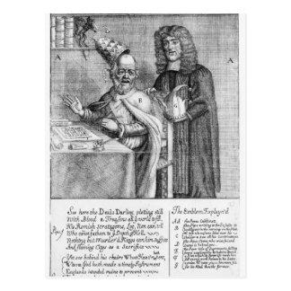 A Portrayal of Titus Oates Postcard
