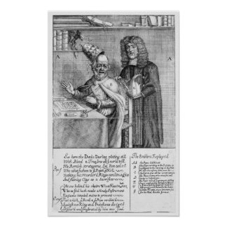 A Portrayal of Titus Oates Poster