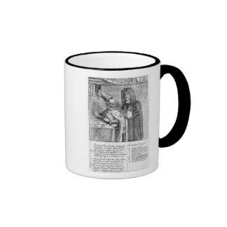A Portrayal of Titus Oates Ringer Mug