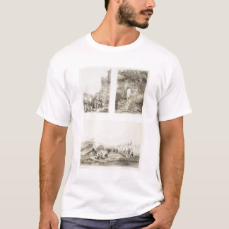A Portuguese Church and a Chinese Street at Macao, T-Shirt