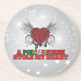 A Portuguese Stole my Heart Drink Coaster