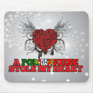 A Portuguese Stole my Heart Mouse Pad