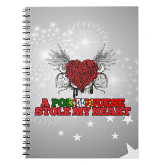 A Portuguese Stole my Heart Notebook