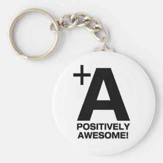 +A Positively Awesome! Collection Keychain