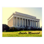 A Post Card of The Lincoln Memorial