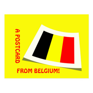 A postcard from Belgium!