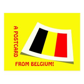 A postcard from Belgium!
