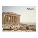 A Postcard of Athens Greece
