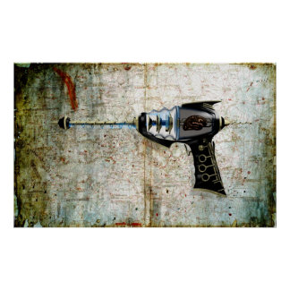 A poster....of a Raygun