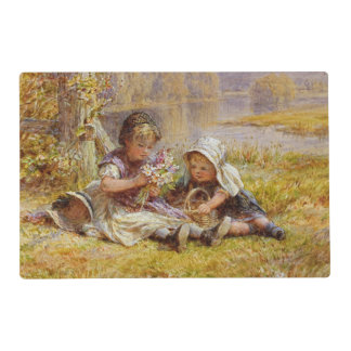 A Posy for Mother, 1867 Placemat