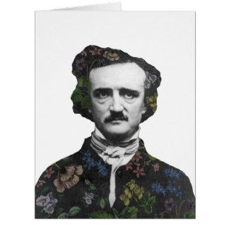 A Posy of Poe Card