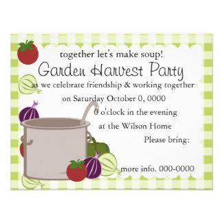 A Pot Of Soup Custom Invitation